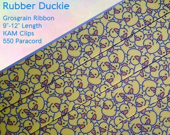 Rubber Duckie Adult Pacifier Clip - Custom Color