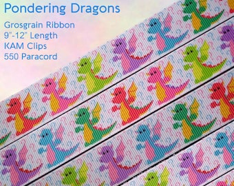 Pondering Dragons Pacifier Clip - Choose Your Color