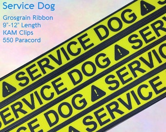 Service Dog Adult Pacifier Clip - Custom Color