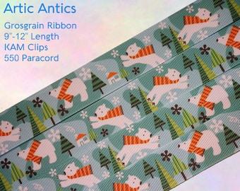 Artic Antics Adult Pacifier Clip - Custom Color