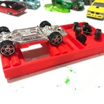 Axle Alignment Jig for Hot Wheels cars