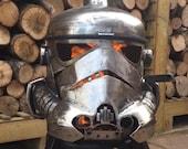 Storm Trooper Wood Burner - Storm Trooper Fire Pit - Storm Trooper - Metal Art - Fire Pit - Wood Burner