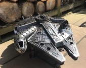Star Wars - Metal Art - Millennium Falcon - Fire Pit - wood burner