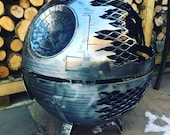 Death Star Wood Burner - Death Star Fire Pit - Star Wars Fire Pit - Death Star - Metal Art - Fire Pit - Wood Burner