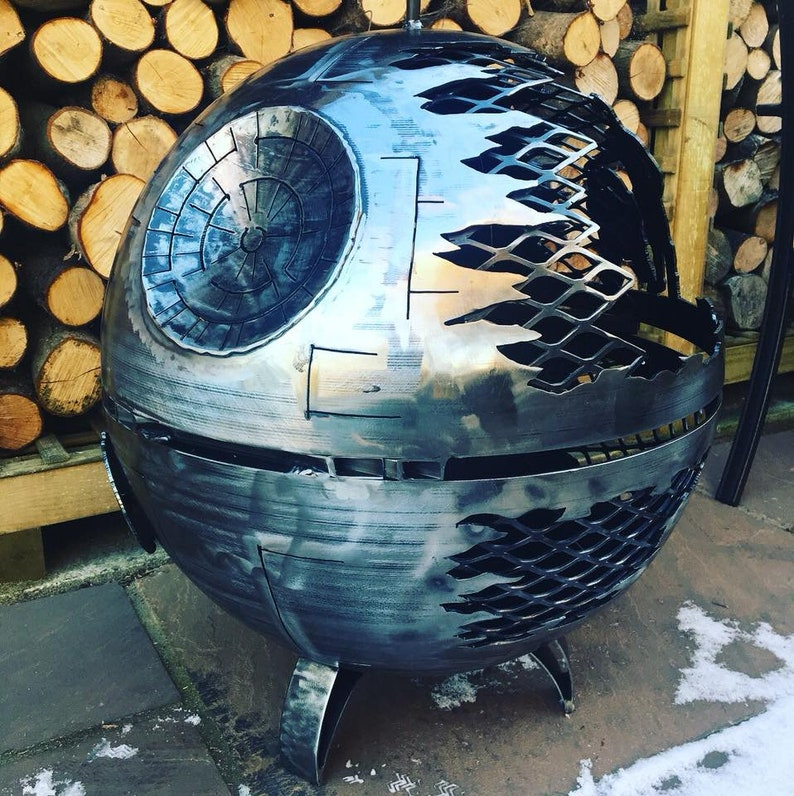 Death Star Wood Burner  Death Star Fire Pit  Death Star  image 0