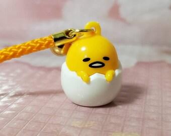 Gudetama Keyring Funny Cute Lazy Egg Japanese Comic Anime Manga Key Chain