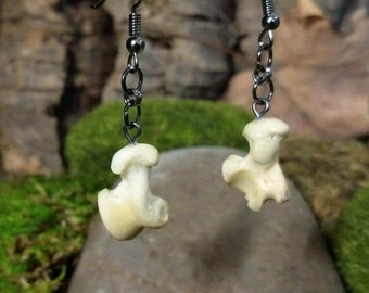 Raccoon Talus Bone Earrings