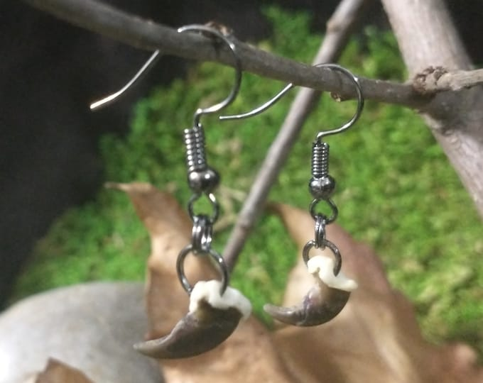 Raccoon Claw Earrings