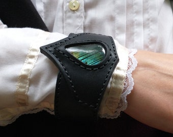Labradorite Wrist Cuff