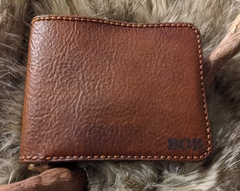 The Knight, Handcrafted Leather Wallet
