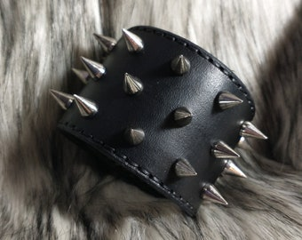 Premium Three Row Spike Cuff