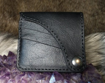 Handcrafted Black Leather Wallet