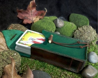 Leather Tarot Case