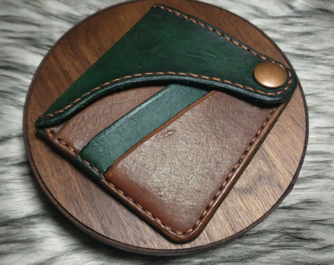 The Goblin, Handcrafted Leather Wallet