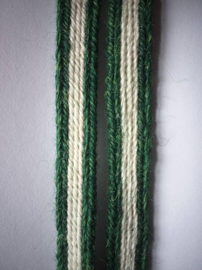 medieval tablet woven garters