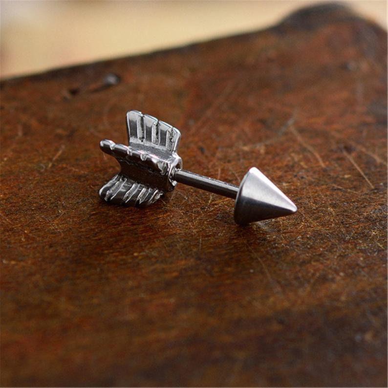 arrow earrings,Cartilage Earring 16g Helix Earring Helix Piercing Cartilage stud Cartilage Piercing