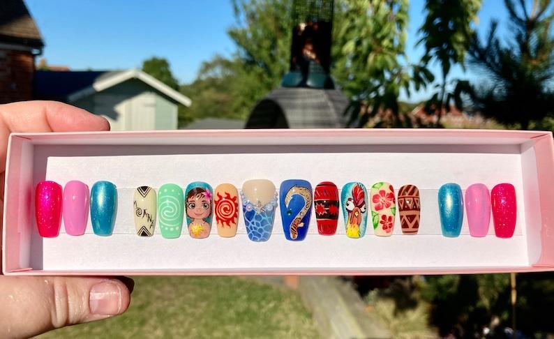 Drücken Sie auf süße Nägel Sarg nackt Nägel Stiletto | Etsy