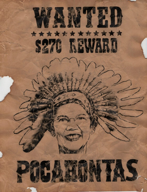 Chief Cherokee Handmade Faux Aged Wanted Poster Marx Best of the West