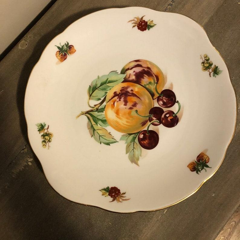 MZ Czechoslavakia Cake or Fruit Plate