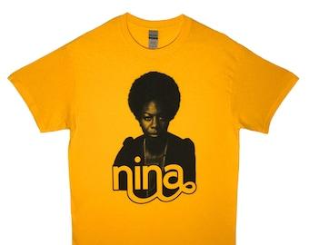Nina Simone Screen Printed T-Shirt