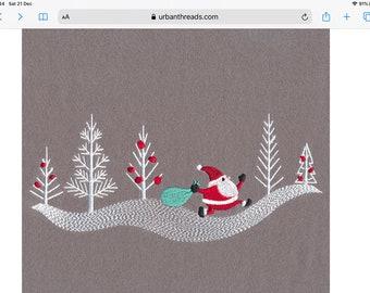 Christmas pillowcase | Etsy