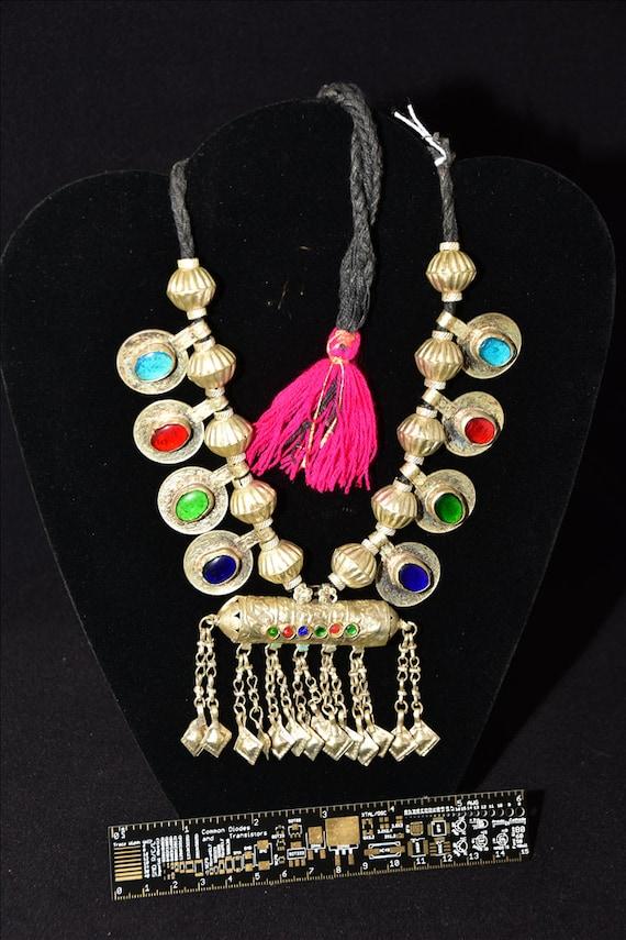 available in white and turquoise Handmade beaded Afghan bracelet. Original AfghanPak tribal ethnic boho jewellery