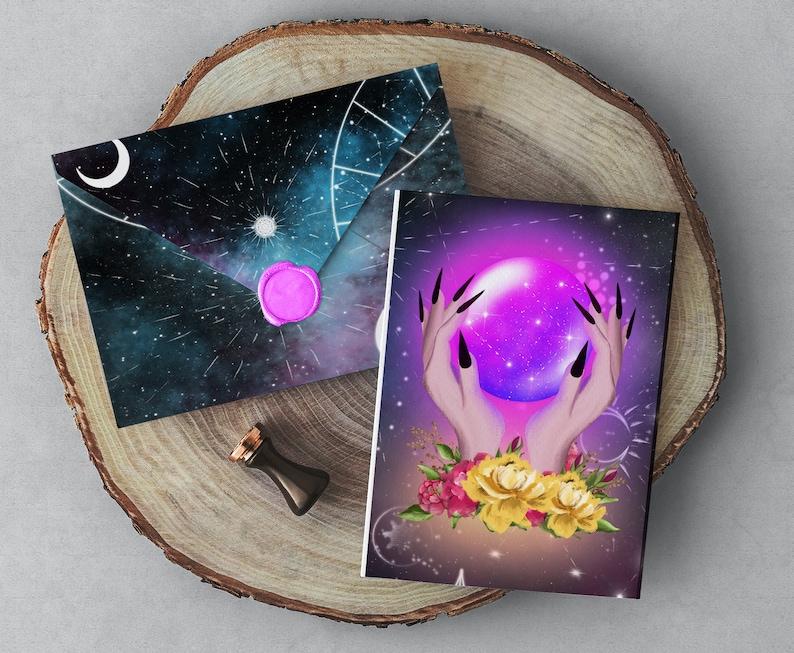 Witchy Hand Full Moon \u2013 Original