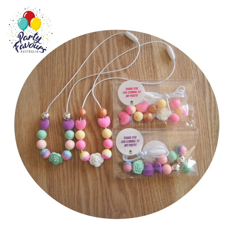 DIY Flower Necklace Party Favour Girls Gift Birthday Party image 0