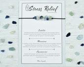 Stress Crystal Bracelet, Stress Relief, Crystal Jewellery, Crystal Jewelry, Moonstone Bracelet, Gifts for Her, Bracelets for Women