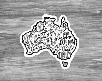 Australia Scrapbook Stickers NRN DESIGNS NOS travel vacation