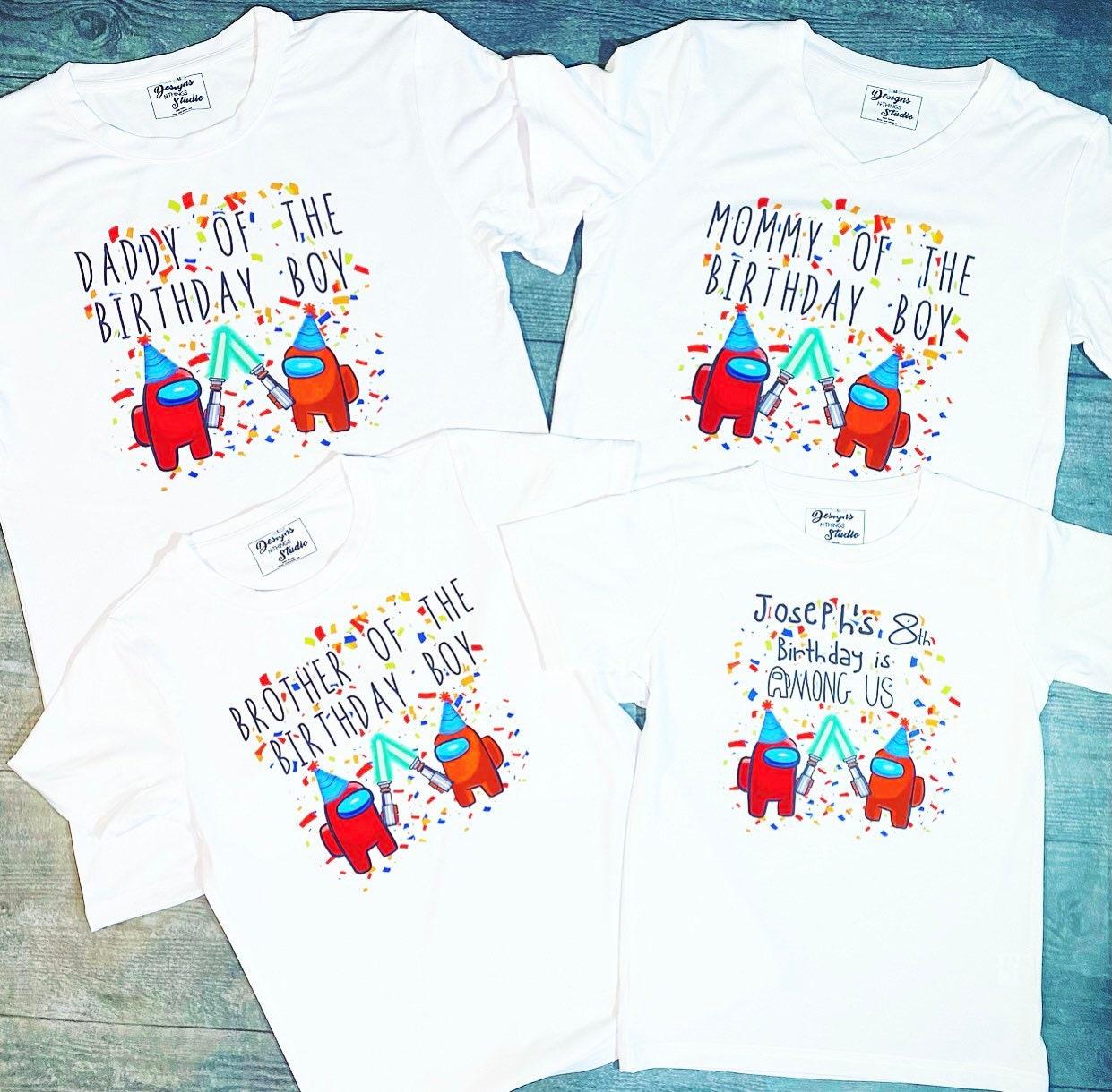 Among Us T Shirt Youth Sizes