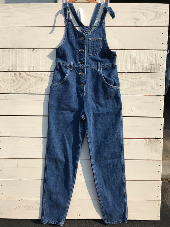Lee Dark wash Jean Overalls Size 4