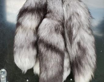 Platinum Fox Tail