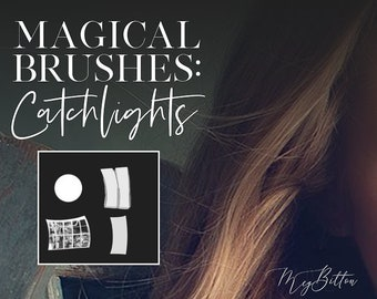 Catchlight Brushes by Meg Bitton | Install on Your Computer | Instant Digital Download