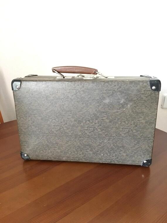 Antique suitcase, Vintage suitcase, Vintage Luggag