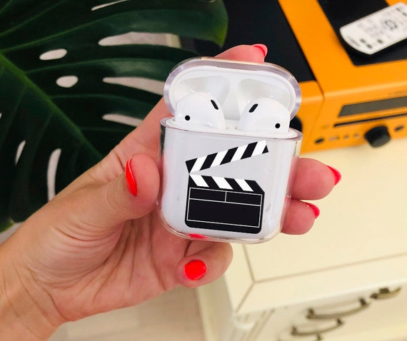 Airpod Case Clapboard Film Action Scene Airpods Case Clear Etsy