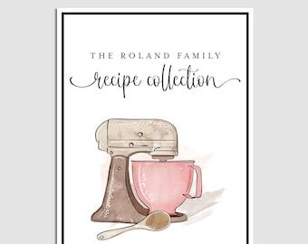 Diy recipe book | Etsy