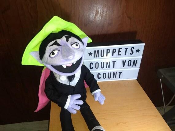 Count Von Count Sesame Street Puppet