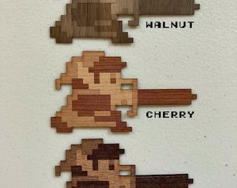 Legend of Zelda - Wood Sticker - Link Sword