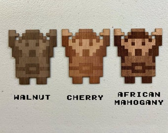 Legend of Zelda - Wood Sticker - Link