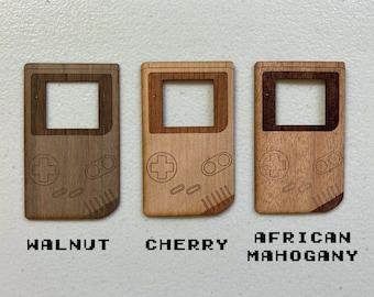 Gameboy - Wood Sticker