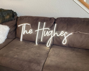 Custom Wedding Neon Sign Led Light, Home Decorations, Personalized Gifts, Best Wedding Gift
