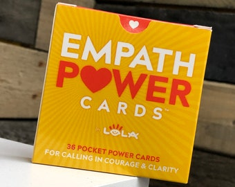 Empath Power Cards™ Affirmation Cards, Oracle Cards, Daily Card Pull
