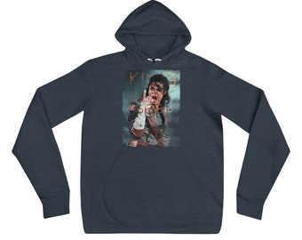 Michael Jackson Hoodie MJ Retro Vintage Music Pop Soul Rock Gift Hooded Hoody