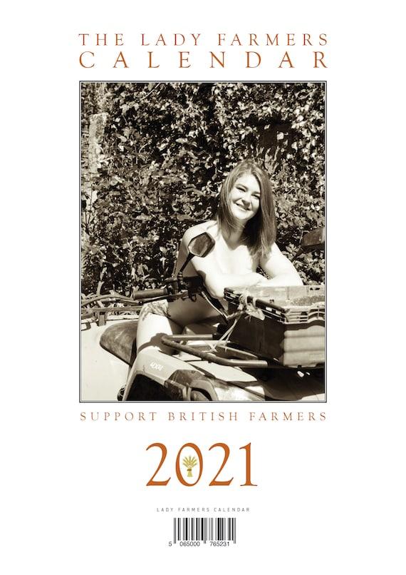 Calendrier des agriculteurs dames 2021 | Etsy