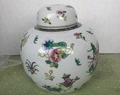Vintage Imari Ginger Jar 490