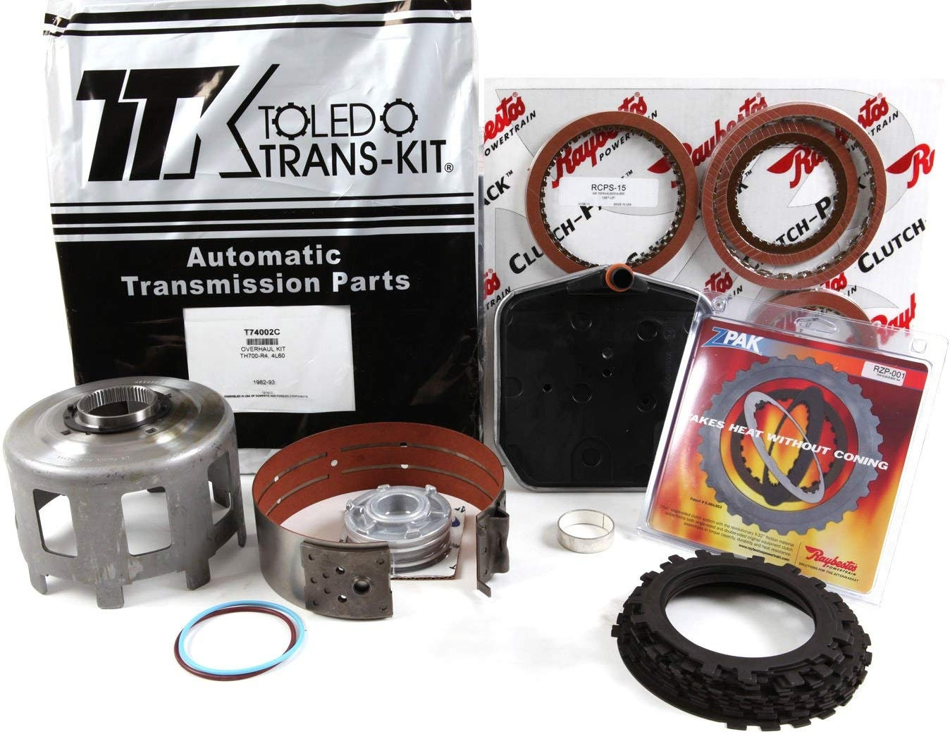 GM 700R4 4L60 Master REBUILD KIT Raybestos Performance With Zpack 1982-1993 for sale