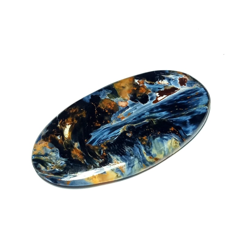 Natural Pietersite Oval Cabochon Code BS1682 35.50 Carat Loose Pietersite Cabochon 47x24x4 MM Size Pietersite Jewelry gemstone