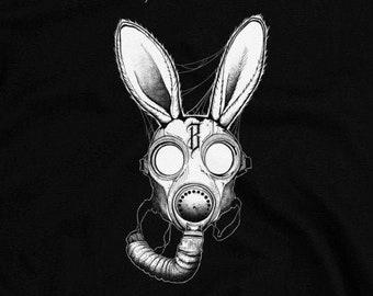 GASMASK BASKERVILLE - T-Shirt (white)