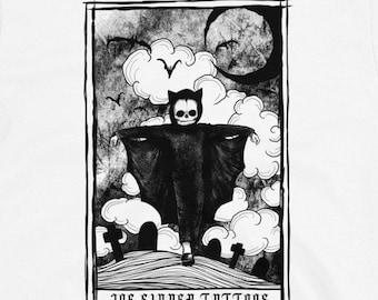 HALLOWEEN TAROT SINNER - T-shirt (white)